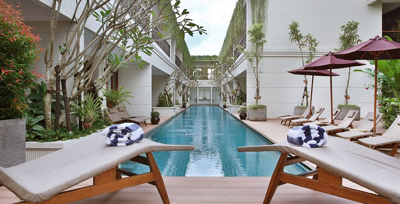 Seminyak Lagoon All Suites - Pool