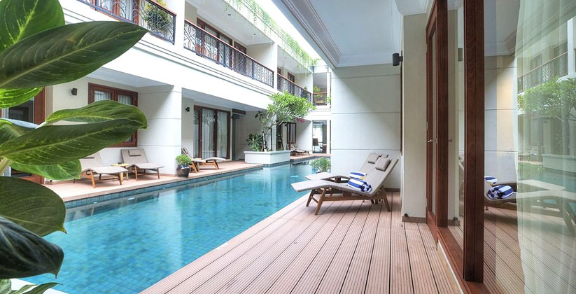 seminyak lagoon All Suites Pool