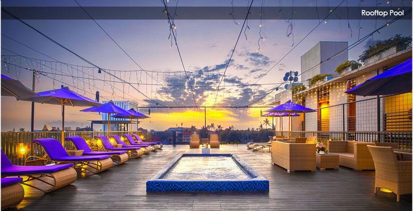 horison hotel seminyak rooftop pool