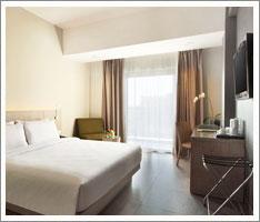hotel santika siligita deluxe room