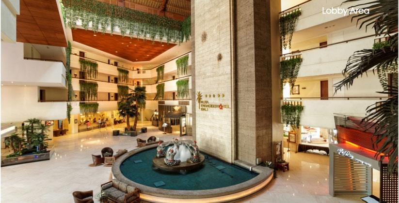 kuta paradiso hotel lobby