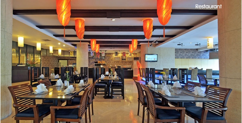 kuta paradiso hotel restaurant