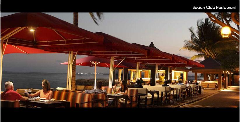 puri santrian hotel - beach restaurant