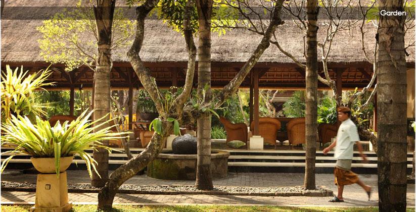 puri santrian hotel - garden