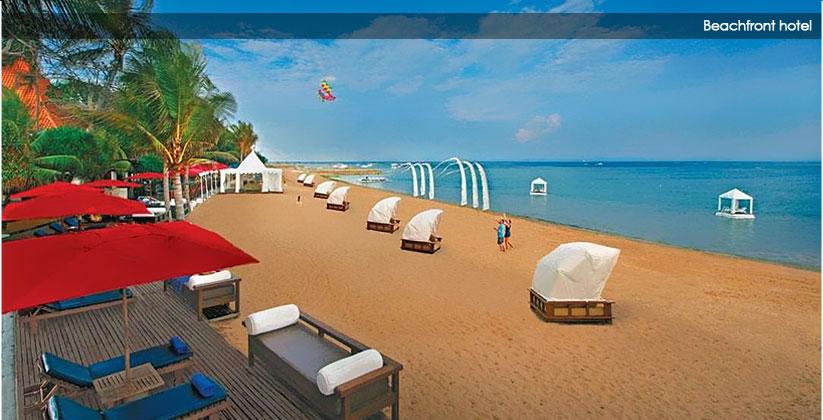 puri santrian hotel - the beach