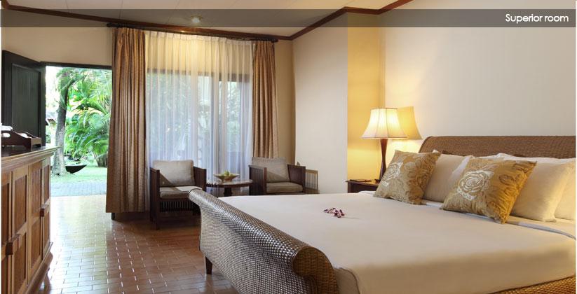 puri santrian hotel - superior room