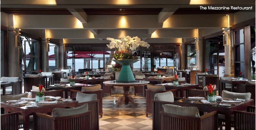 puri santrian hotel - restaurant