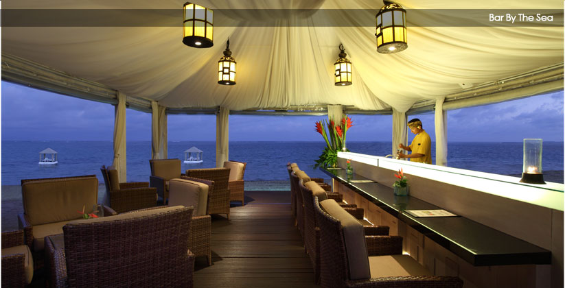 puri santrian hotel - beach bar