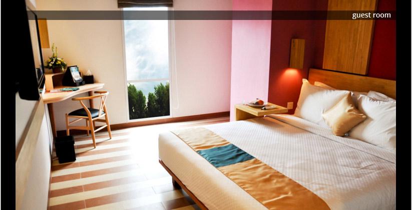 the 101 bali legian hotel - guest room