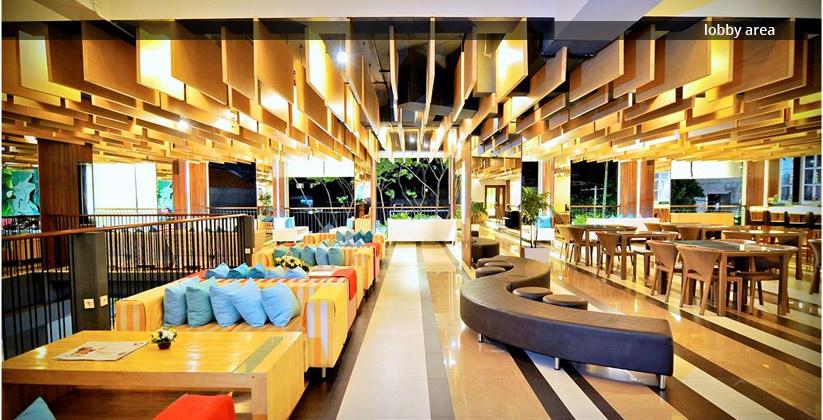 the 101 bali legian hotel - lobby area