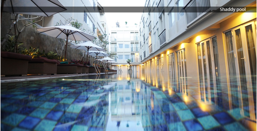 the 101 bali legian hotel - pool