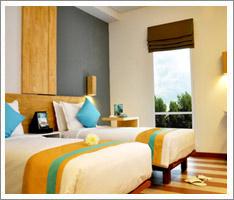 superior room at the 101 bali legian hotel