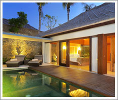 One Bedroom Pool Villa at The Haven Hotel Seminyak